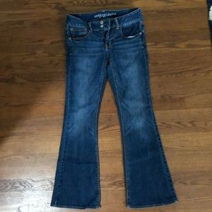 American Eagle Artist bootcut Jeans, 6Short
